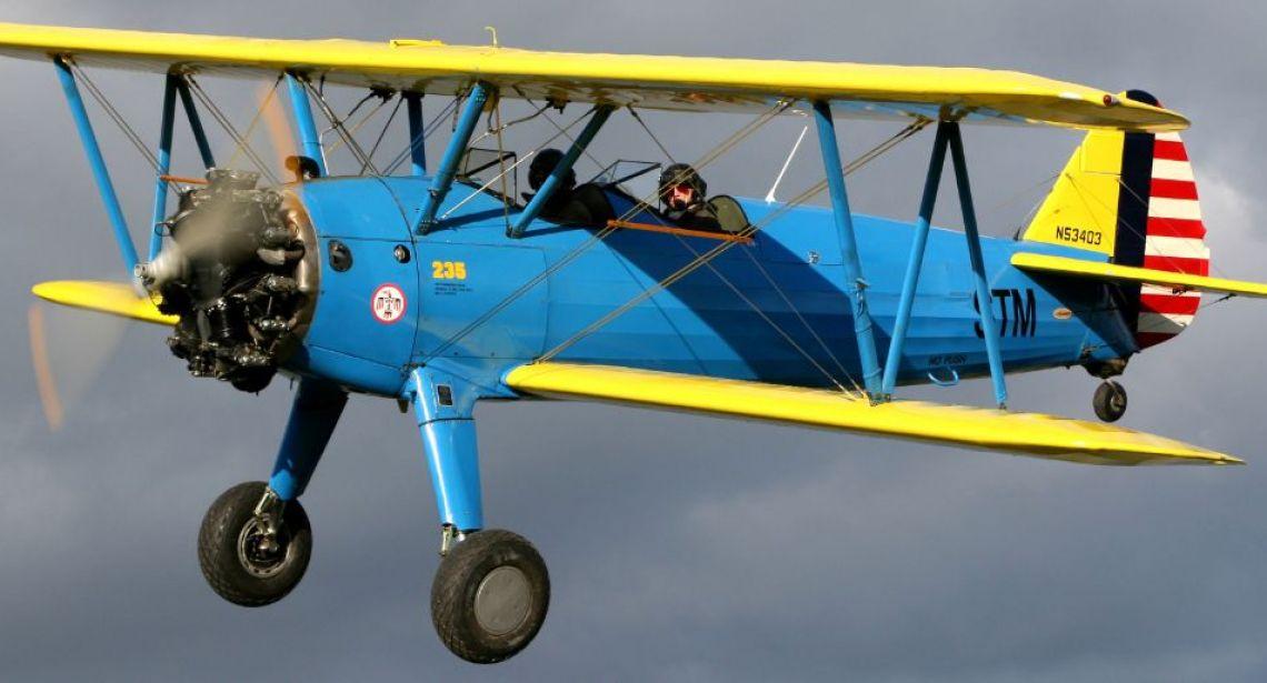Boeing Stearman   Past Projects   Projects   Jem Aviation